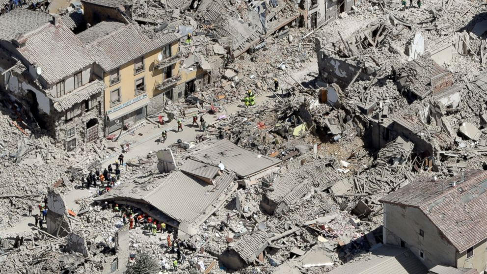 Amatrice Photo what to know about amatrice, a town hard hititaly's earthquake