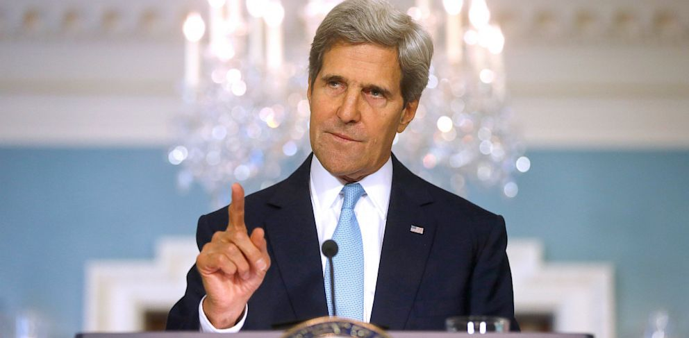 Syria Must Be Punished as Warning to Others, Kerry Says