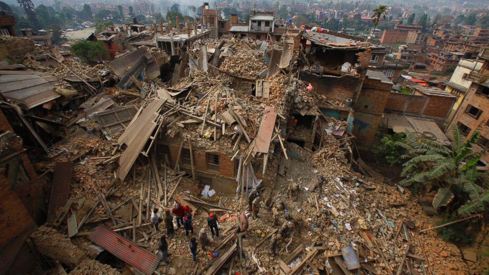 nepal earthquake california man describes terrifying shaking at kathmandu hotel abc news
