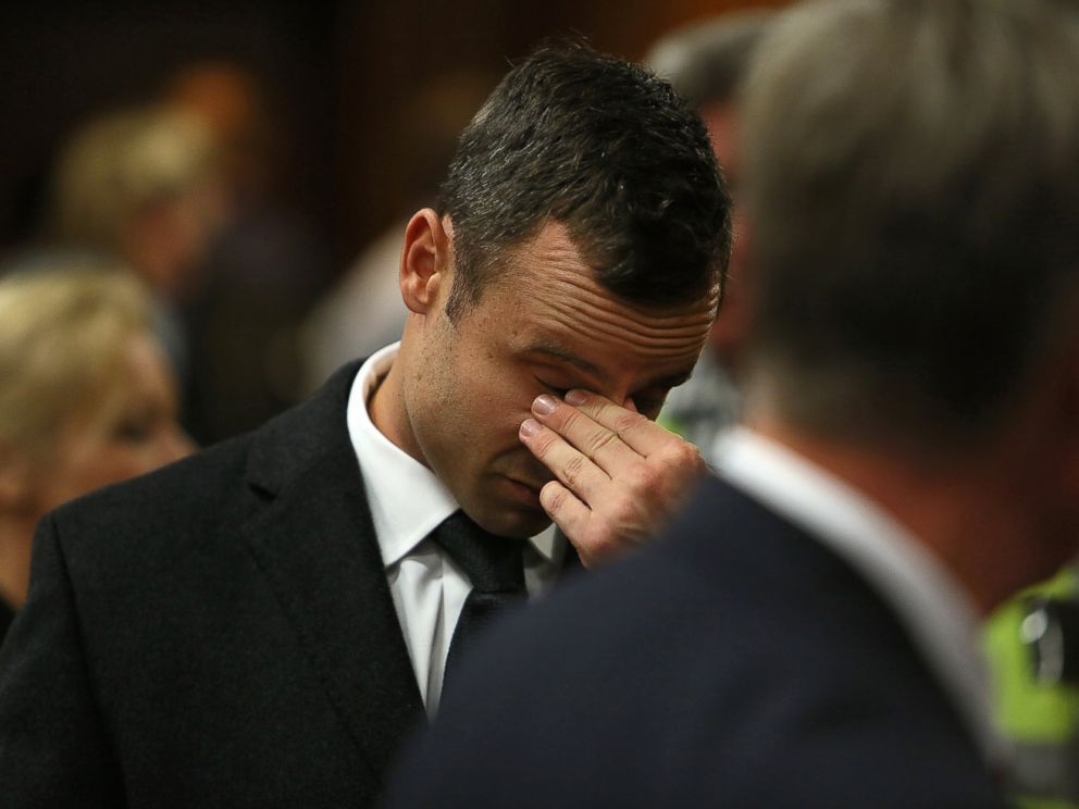 PHOTO: Oscar Pistorius in court on the third day of his trial at the high court in Pretoria, South Africa, March 5, 2014.
