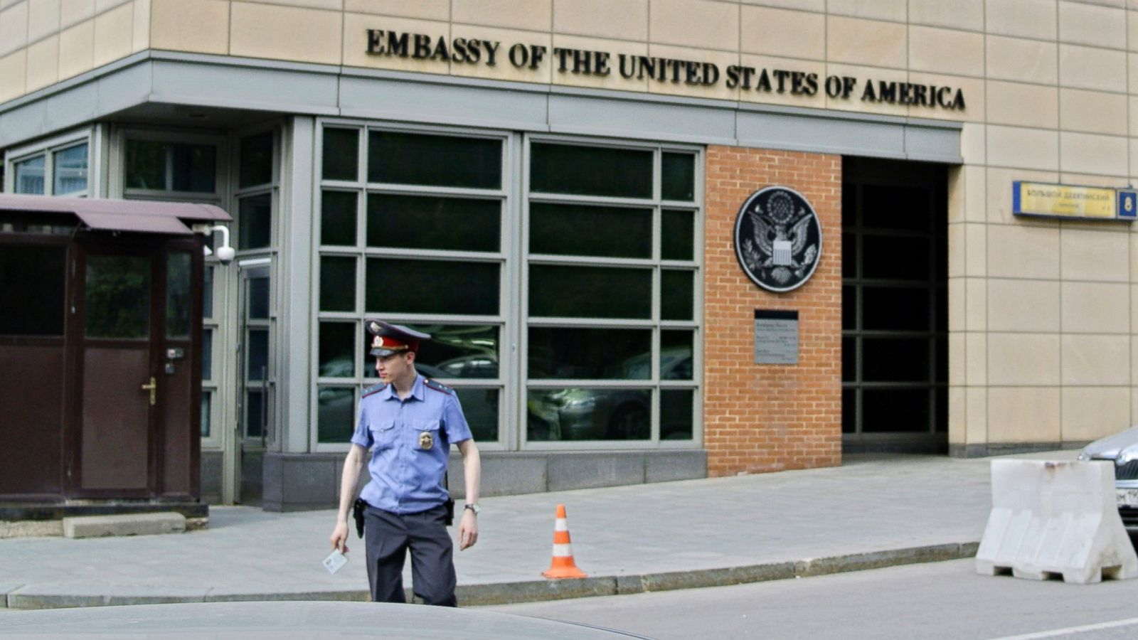 Russia Expels Two U S  Diplomats in Row after American