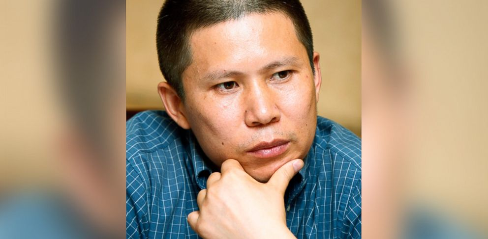 PHOTO: In this file photo, legal scholar Xu Zhiyong is pictured as he attends a meeting with lawyers on Jul. 17, 2009 in Beijing.
