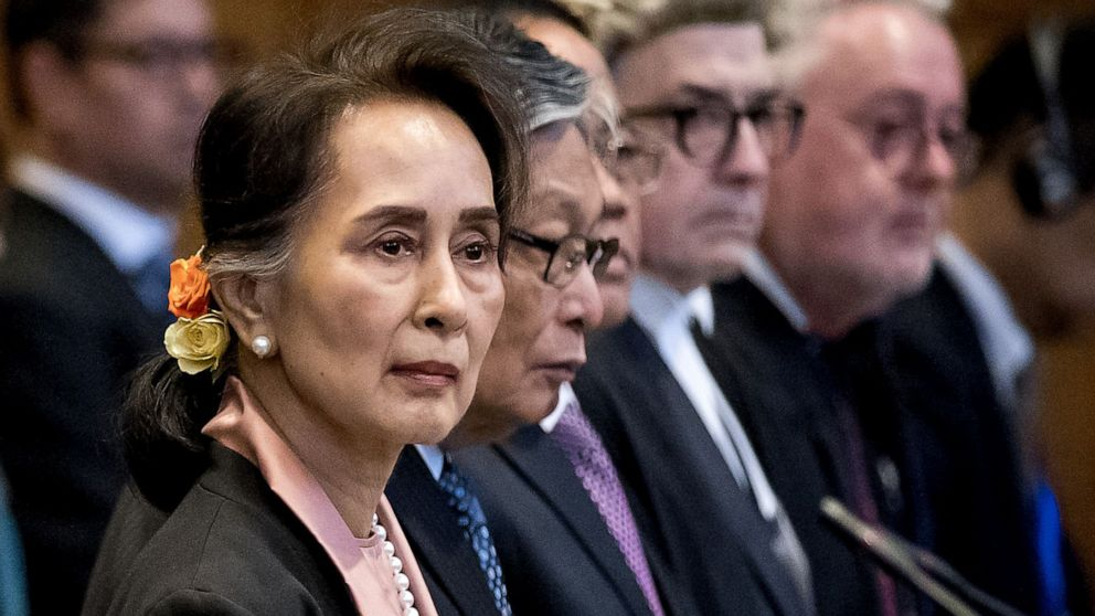 Aung San Suu Kyi, the Nobel Peace Prize winner, will defend her country against accusations of genocide at the Hague