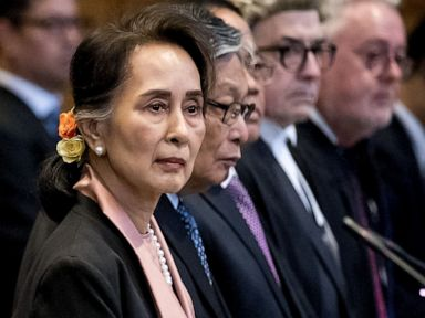 Aung San Suu Kyi to defend Myanmar against accusations of genocide at the Hague