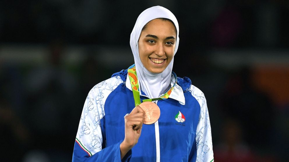 Iran's only female Olympic medalist defects