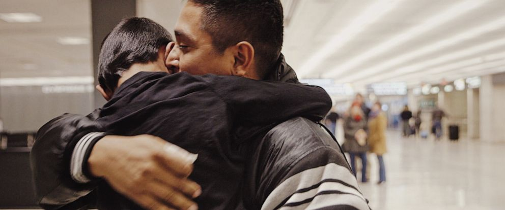 PHOTO: Jesus had been separated from his 6-year-old son Ariel since last spring. Jesus was deported to his home country of Honduras, where he once again faced gun violence.