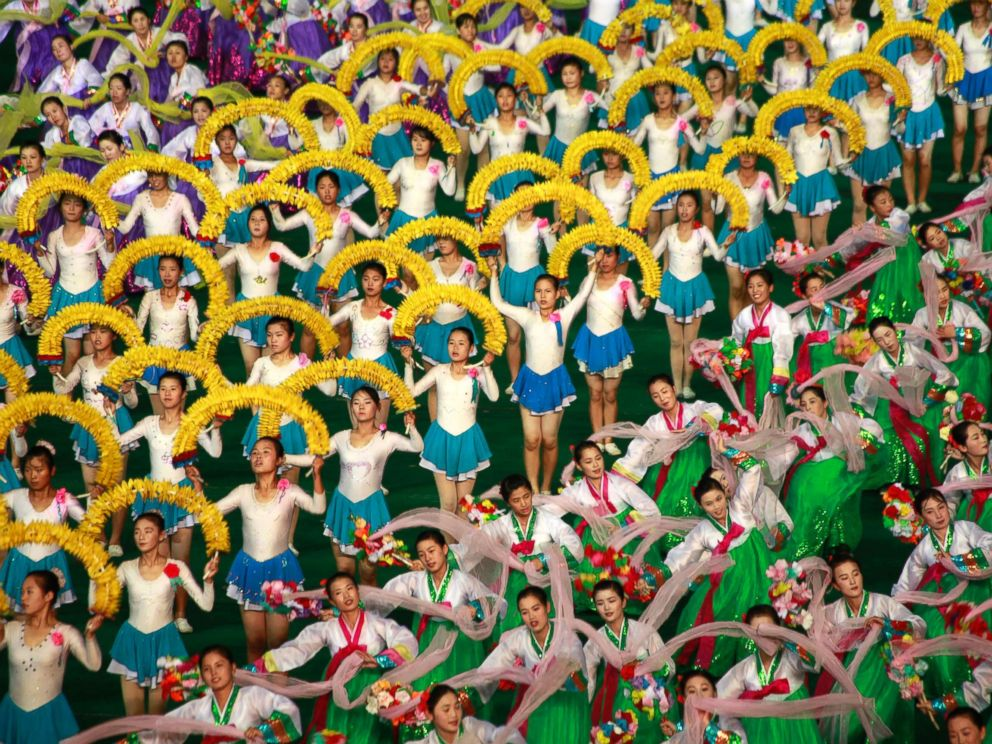PHOTO: Performers participate in the Arirang Mass Games, in Pyongyang, North Korea, Nov. 14, 2012.