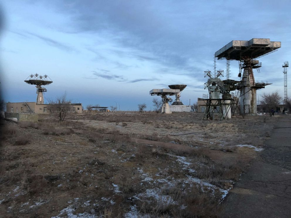 PHOTO: Russias spaceport in Baikonur, Kazakhstan, Dec. 2018.