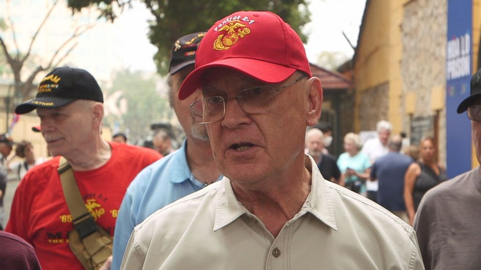 PHOTO: First Lt. Barry Beck was the executive officer of the company. He organized the trip to Vietnam and is from Texas.
