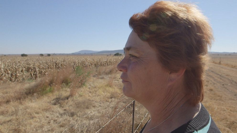 Bernadette Hall is a farmer in South Africa, with expansive land to hold her cattle, corn, and pigs. She said its what she was meant to do.