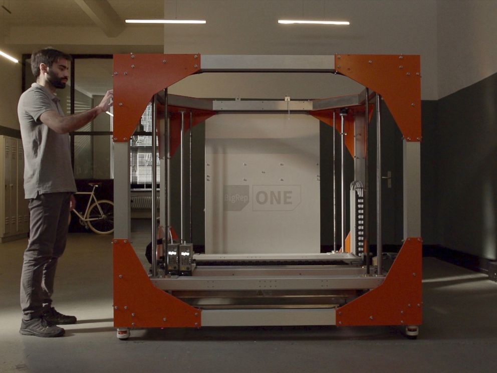 PHOTO: BigRep ONE, the large-scale 3D printer developed by Berlin-based company BigRep.