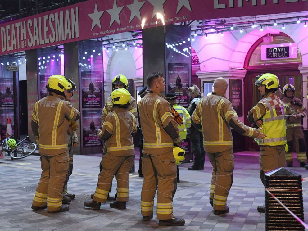 Ceiling Collapses At London Theater During Show Injuring 5