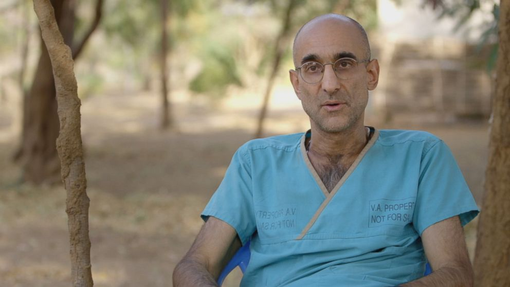 Dr. Tom Catena is the only doctor in Mother of Mercy Hospital, the only hospital serving the gravely injured and dying in Nuba Mountains, Sudan.