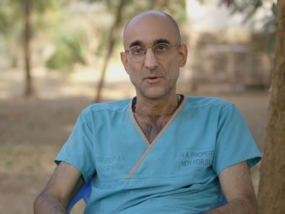 PHOTO: Dr. Tom Catena is the only doctor in Mother of Mercy Hospital, the only hospital serving the gravely injured and dying in Nuba Mountains, Sudan.