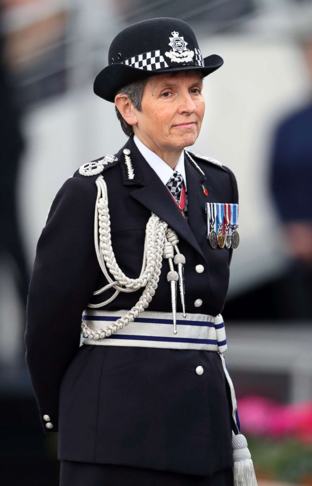 PHOTO: Commissioner of the Metropolitan Police Cressida Dick attends the Metropolitan Police Service Passing Out Parade for new recruits at the Metropolitan Police Service Training College, Hendon on Nov. 3, 2017 in London.