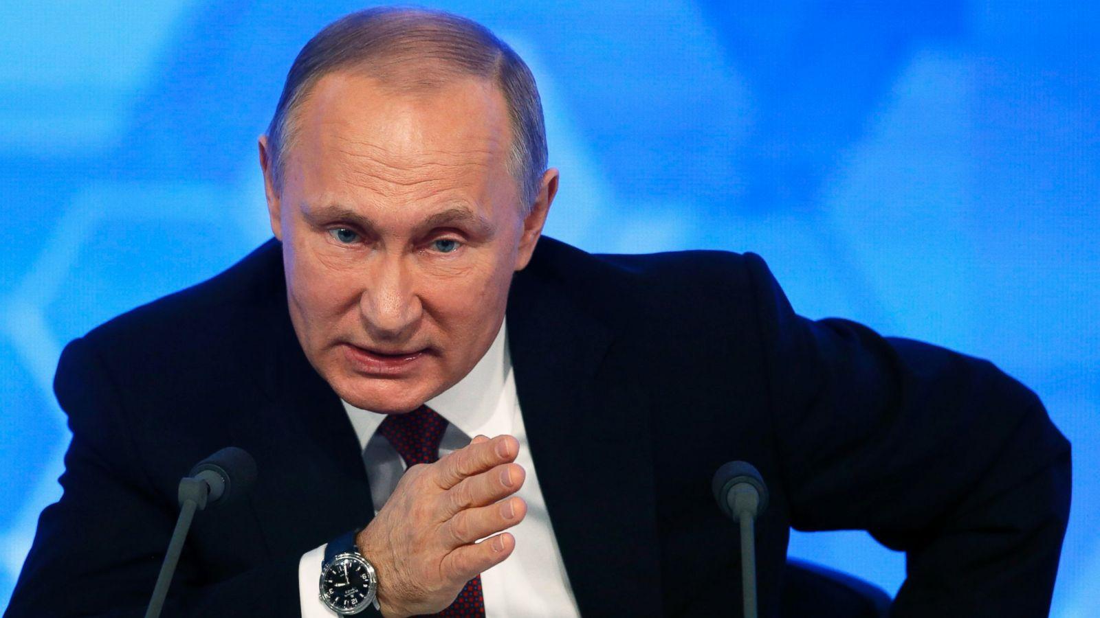 What Russian President Vladimir Putin Said In His Marathon News Conference Abc News