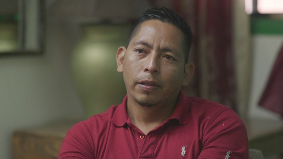 Elmer, a single father, recounted a harrowing journey he took with his teenage daughter Marisol: he said they were kidnapped and held for ransom before being separated by ICE agents.