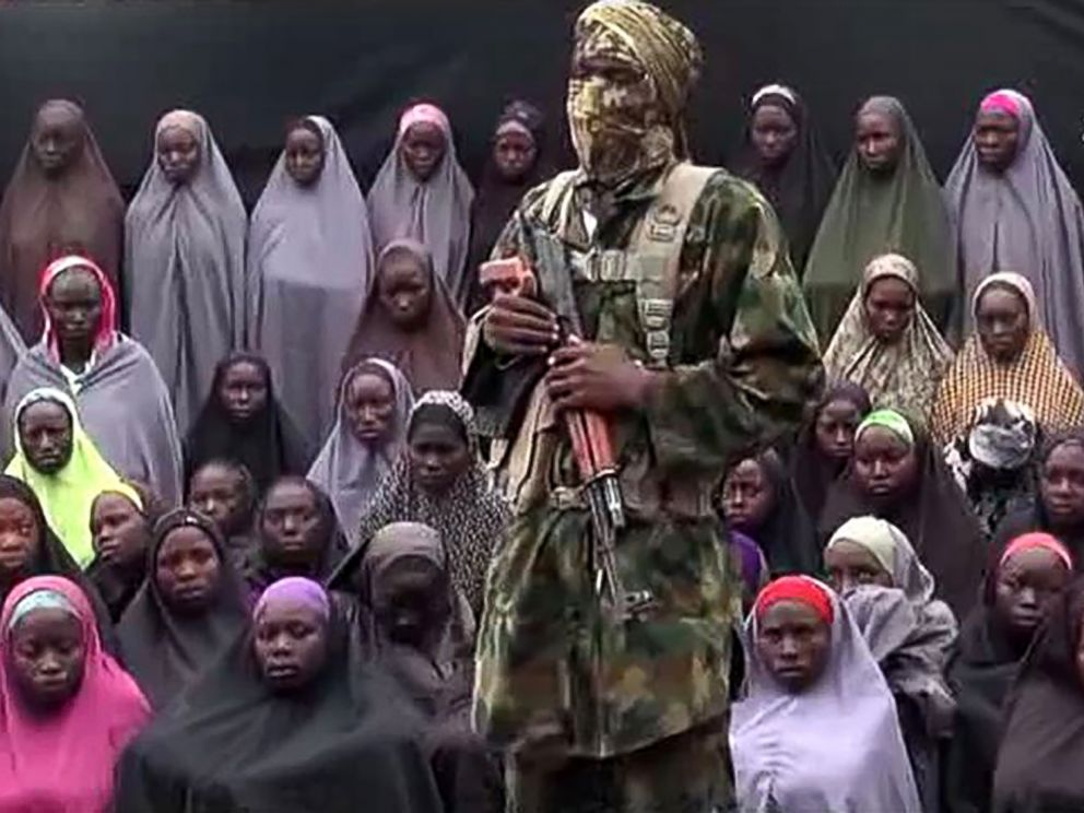 PHOTO: This video grab image created on Aug. 14, 2016, taken from a video released on youtube purportedly by Islamist group Boko Haram showing what is claimed to be one of the groups fighters at an undisclosed location.