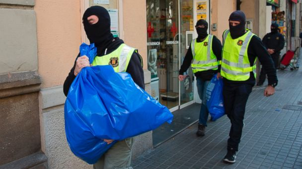 Spain arrests 9 suspected members of jihadi group in probe of Brussels attacks