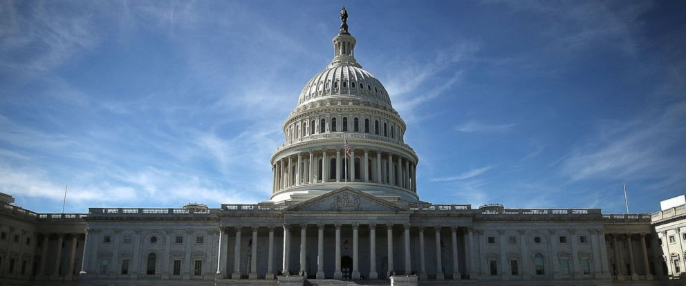 PHOTO: The U.S. Capitol is shown Oct. 11, 2016 in Washington D.C.