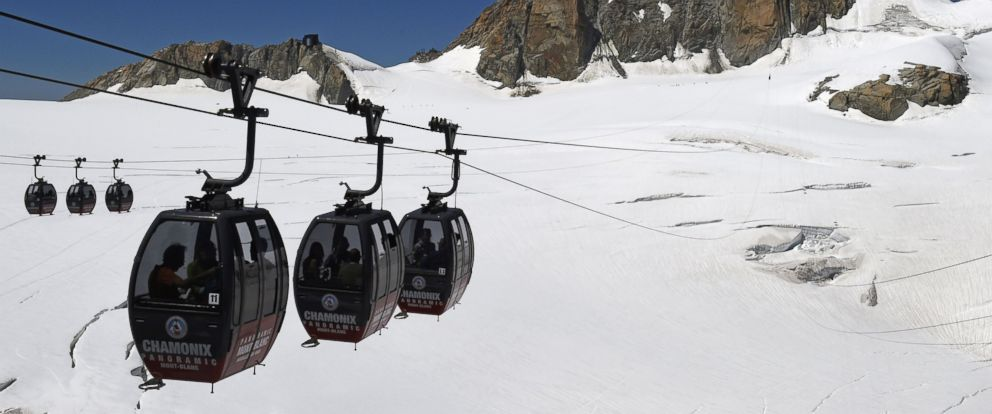 Rescuers Bring Down All Passengers Safely From Mont Blanc