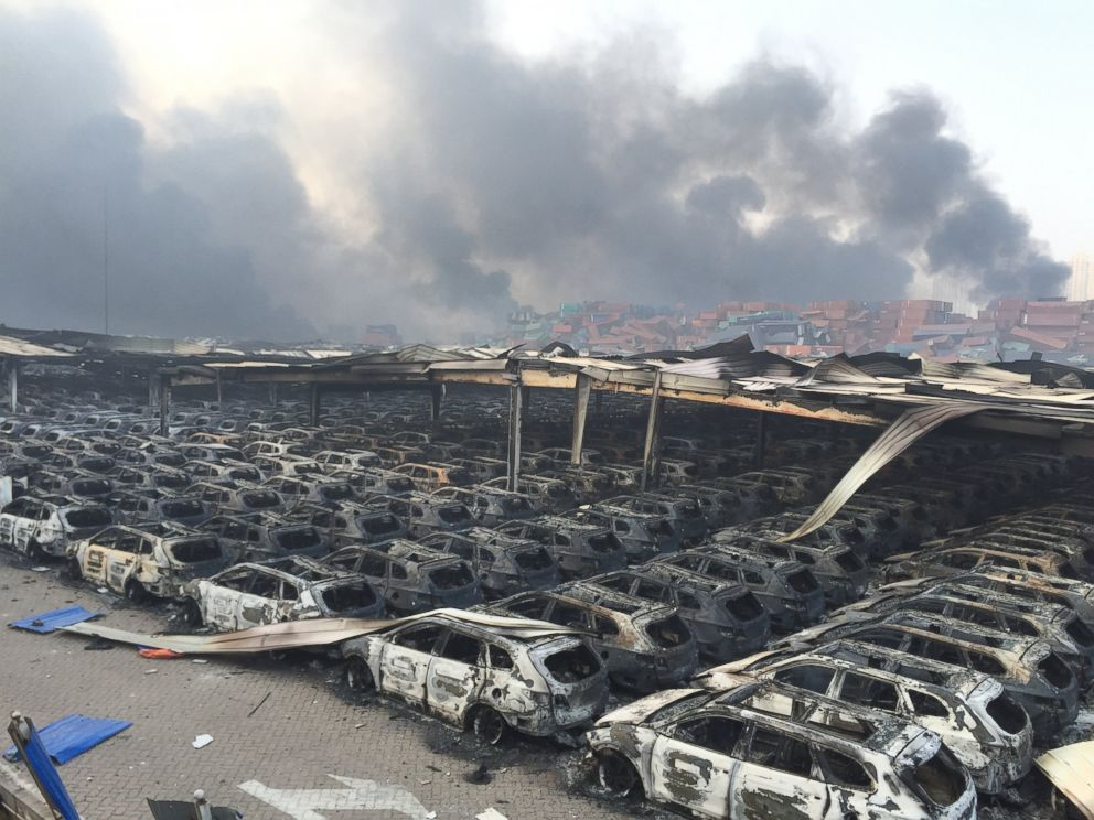 Tianjin, China, Explosion: See the Apocalyptic Images - ABC News
