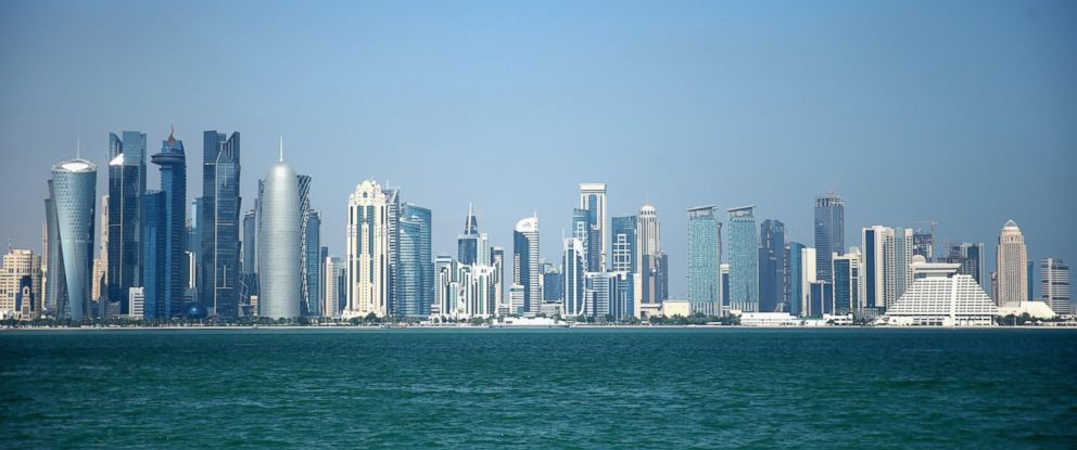 PHOTO:The West Bay skyline of Doha, Qatars capital city is pictured, Dec. 29, 2015, in Doha, Qatar.