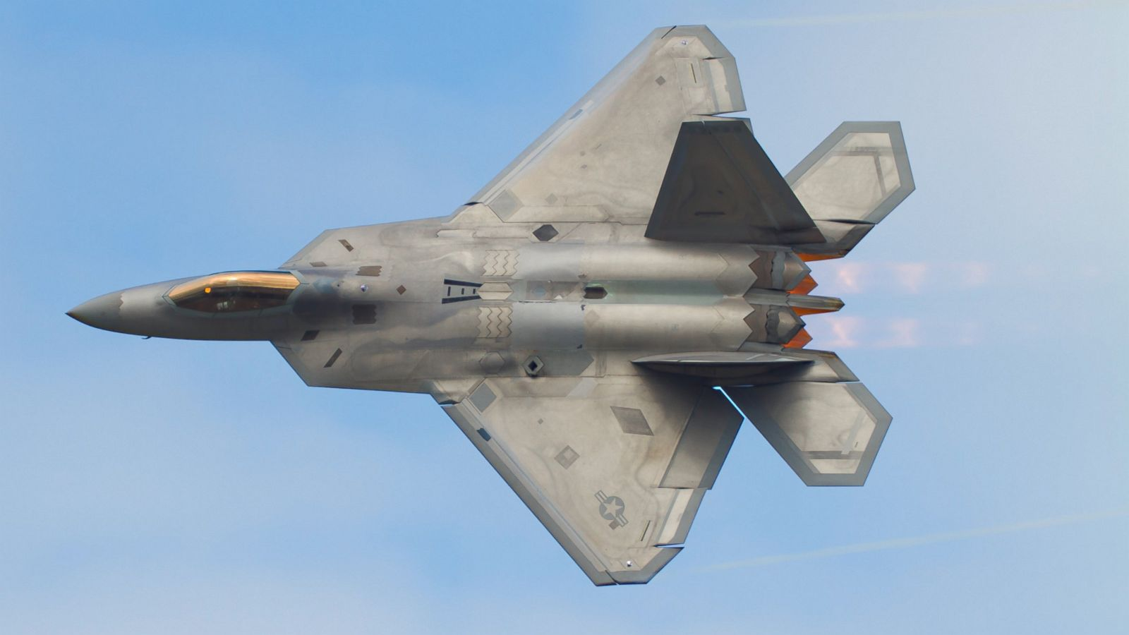 After Years Of Trouble F 22 Raptor S 1st Combat Mission A