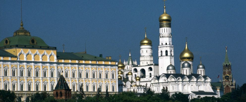 PHOTO: View of the Moscow Kremlin.