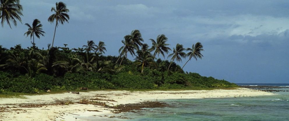 Photo The Beach On Santa Ana Island Shown January 1981 Part Of