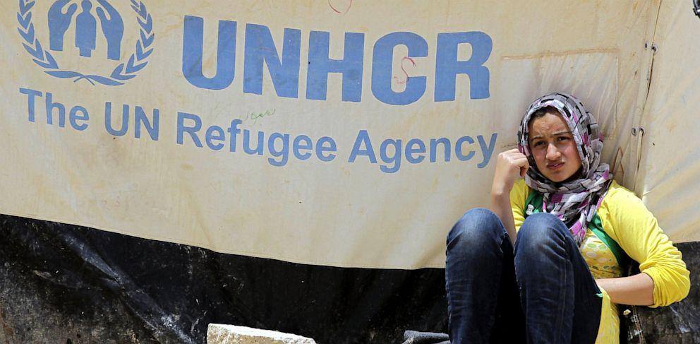 PHOTO: A Syrian refugee