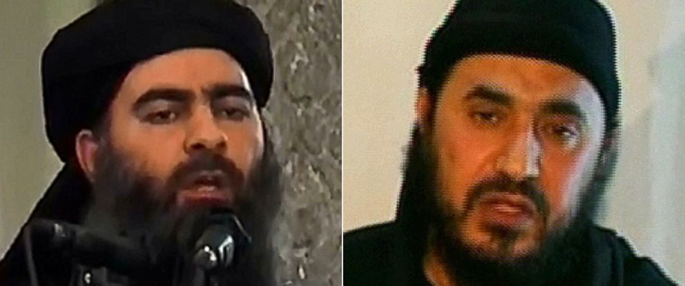 PHOTO: Al-Furqan Media shows alleged Islamic State of Iraq and the Levant (ISIL) leader Abu Bakr al-Baghdadi | Qatari based satellite TV station Al-jazeera, shows a man identifying himself as Al-Qaedas Iraq frontman Abu Musab al-Zarqawi.