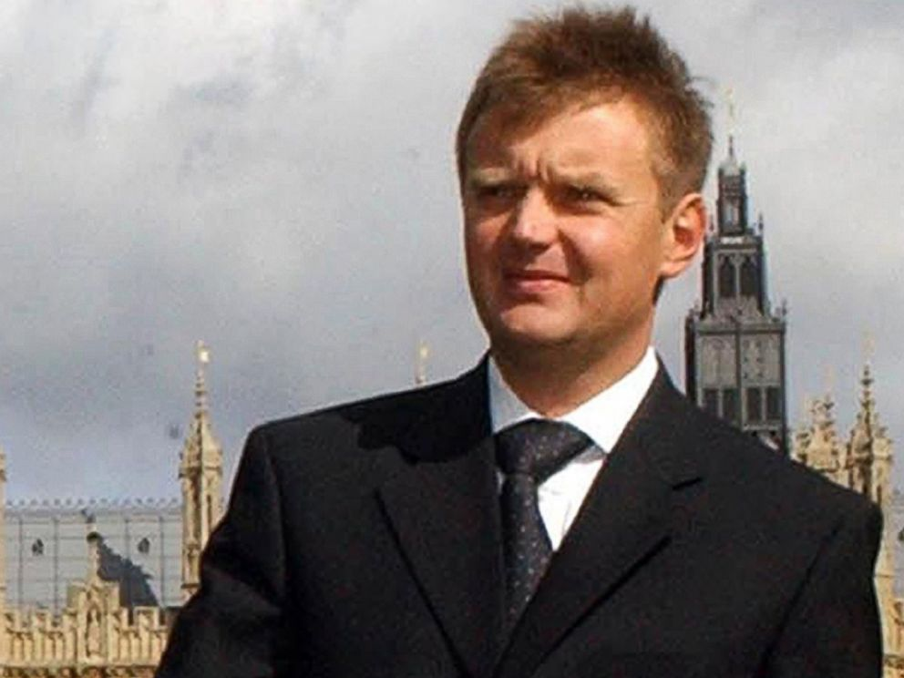 PHOTO: Russian ex-spy and fierce Kremlin critic Alexander Litvinenko, is seen after a press conference in London, Sept. 14, 2004.