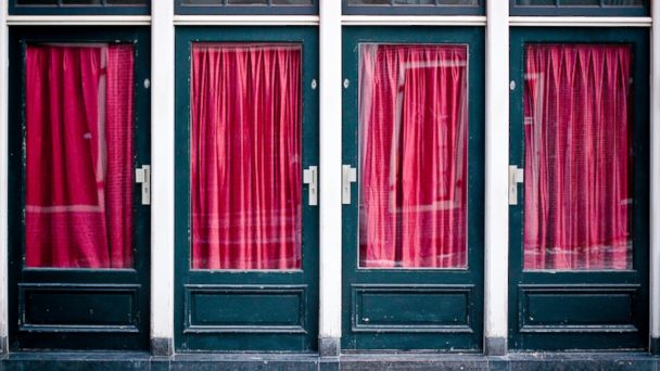 PHOTO: Red Light District in Amsterdam.