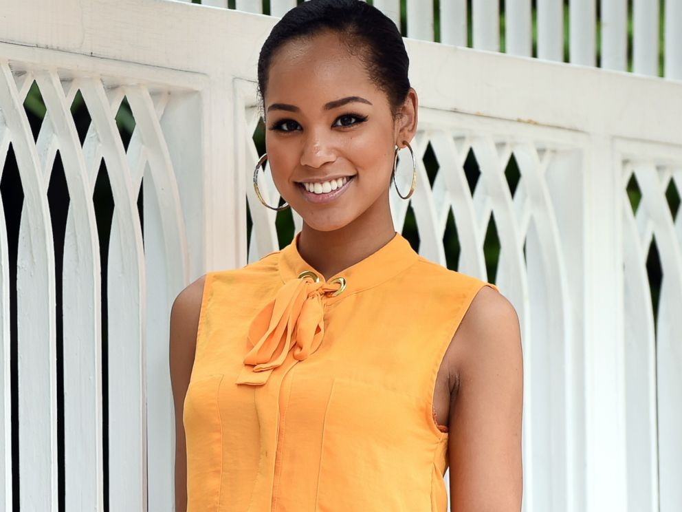 PHOTO: Miss Japan Ariana Miyamoto is pictured in Tokyo on May 7, 2015.