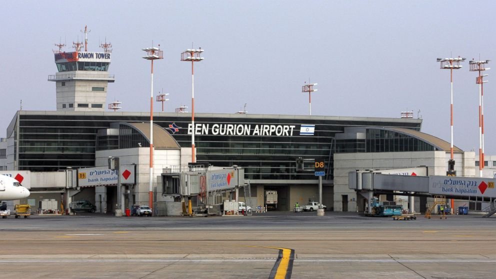 Israel International Ben Gurion airport on the outskirts of Tel Aviv, July 25, 2007.