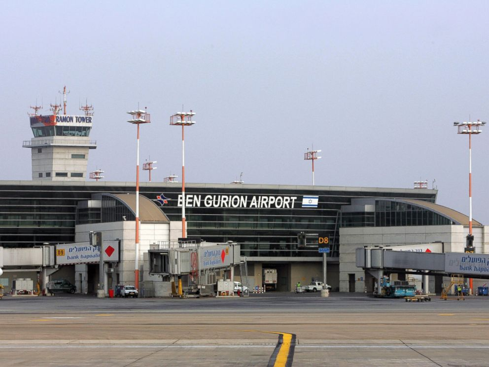 PHOTO: Israel International Ben Gurion airport on the outskirts of Tel Aviv, July 25, 2007.