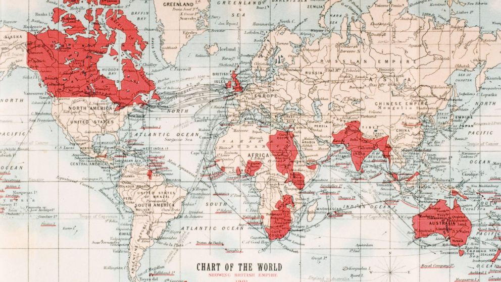 How UK Would Look Without Scotland, and What 'British Empire' Looked Like  in 1901 - ABC News