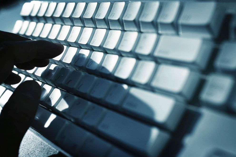 PHOTO: A person uses a keyboard in an undated stock photo.