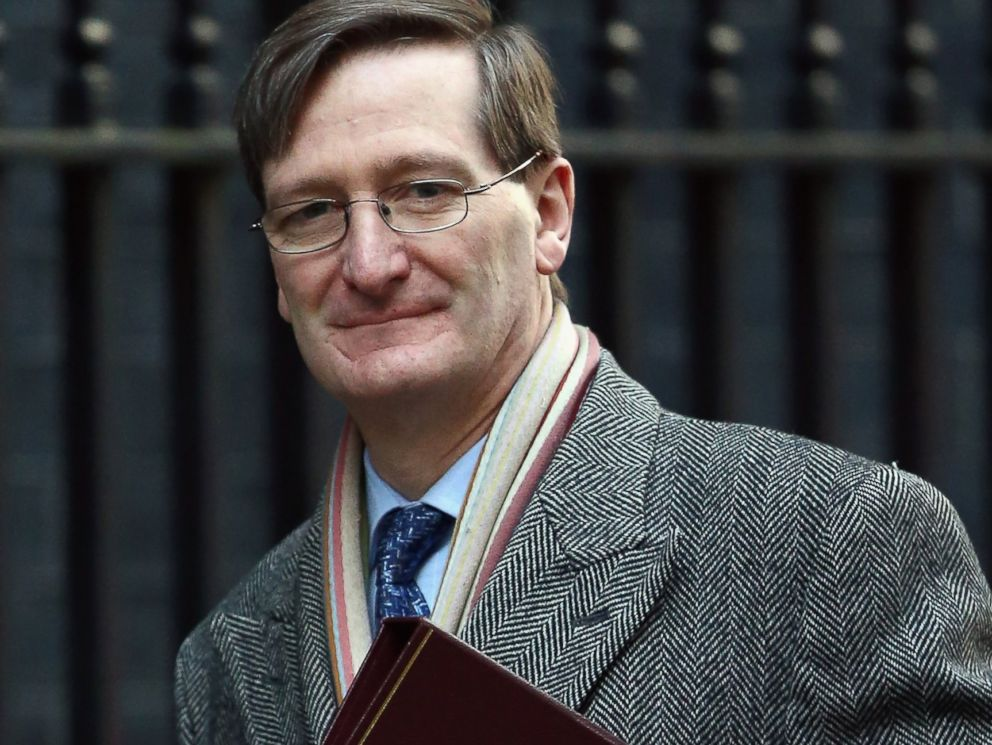 PHOTO: Dominic Grieve is pictured on Feb. 4, 2014 in London.