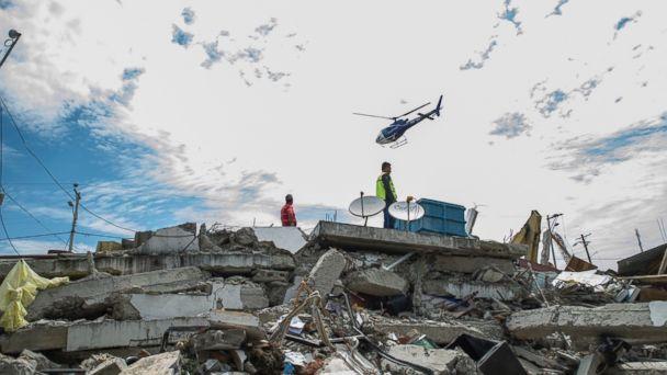 American Among Hundreds Killed in Ecuador After Devastating Earthquake