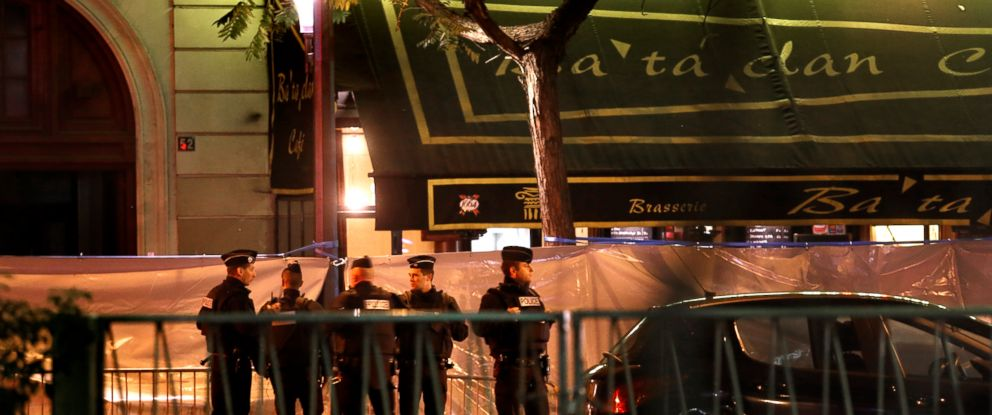 PHOTO:Police stand guard outside the Bataclan after the terrorist attacks, Nov. 14, 2015, in Paris.
