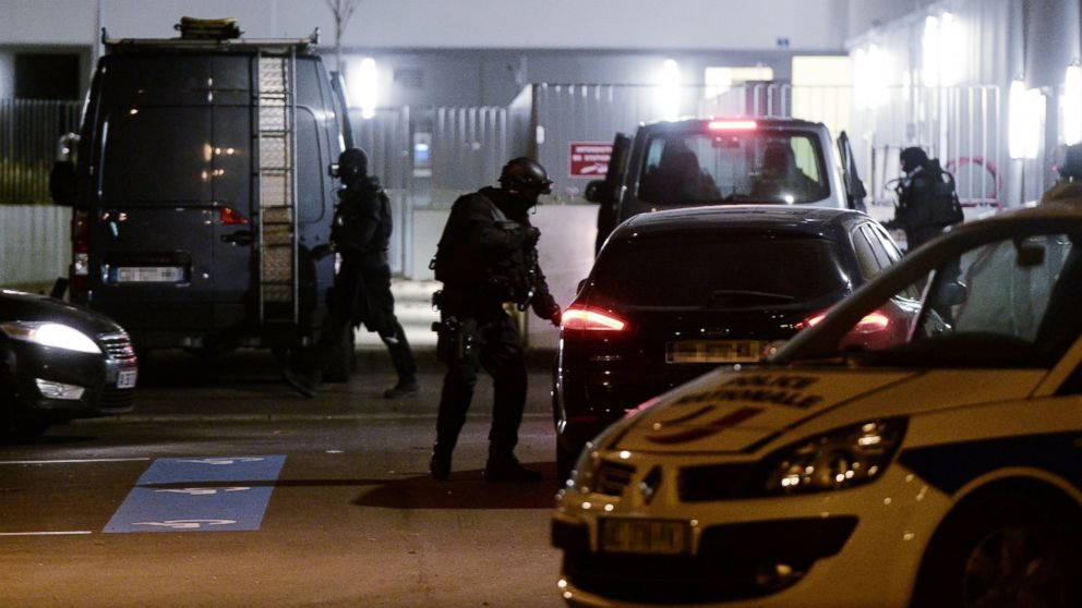 French Police Carry Out 128 Raids Overnight As Hunt For