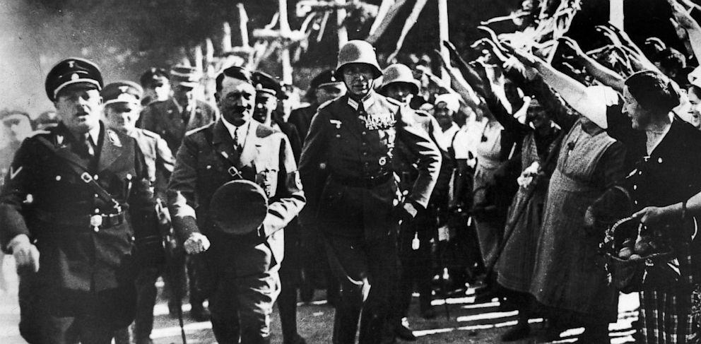 PHOTO: Adolf Hitler in Goslar, Germany in 1934.