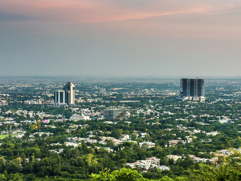 PHOTO: View of Islamabad.