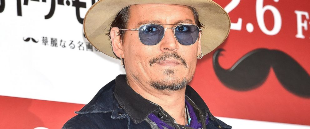 PHOTO: Johnny Depp is pictured on Jan. 28, 2015 in Tokyo, Japan.