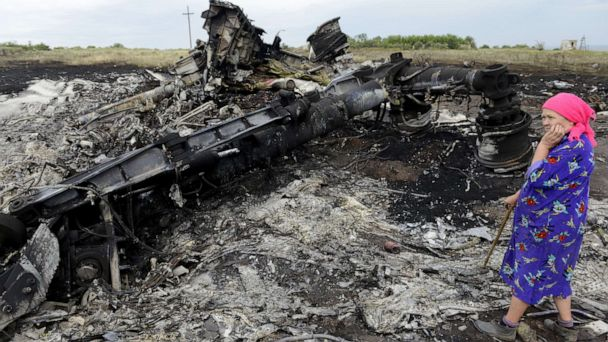 Dutch prosecutors charge 4 in shooting down of flight MH17 over eastern Ukraine