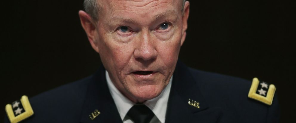 PHOTO: Gen. Martin Dempsey testifies before the Senate Armed Services Committee
