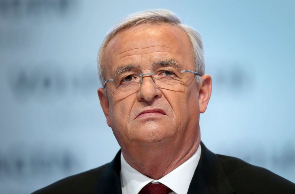 Volkswagen ex-CEO Martin Winterkorn charged in the USA over Dieselgate scandal