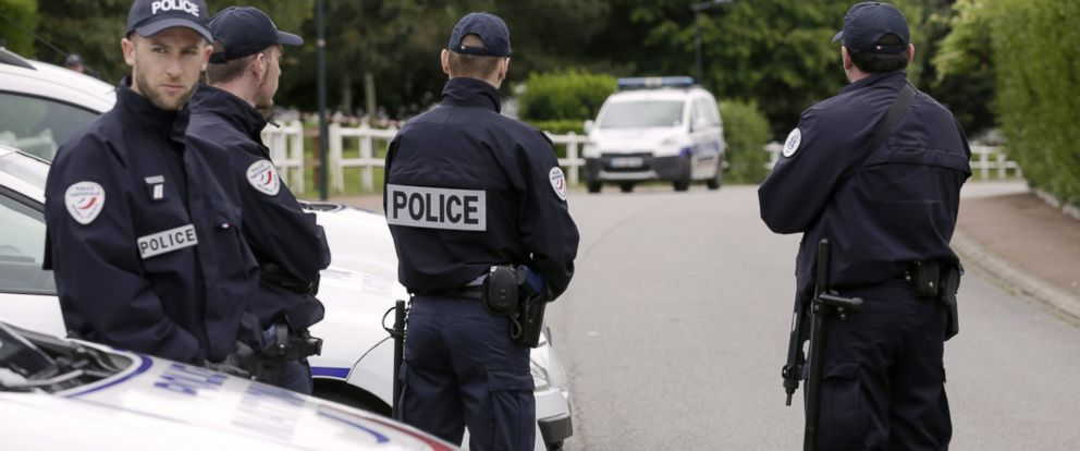 French Policeman Slain in Despicable Terrorist Act Officials Say